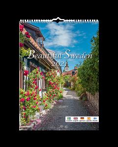 Alm. Burde Väggkalender Beautiful Sweden