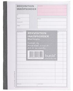 Rekvisition Inköpsorder A5 2x50