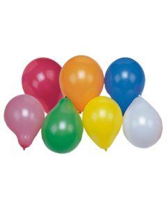 Ballonger Papstar blandade färger 100/fp