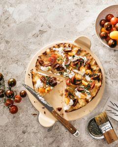 Pizza & baksten