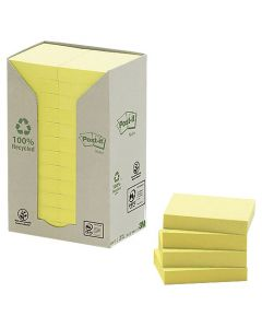 Post-it Recycled 127x76mm pastell 16st/fp