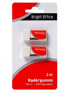 Radergummi 2-pack blister