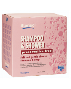 Duschtvål Sterisol Shampoo & Shower 2,5L
