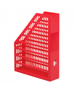 Tidskriftssamlare Economy A4 röd