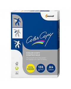 Papper Color Copy Coated Silk A4 135g 250ark/fp