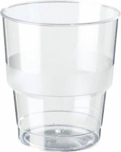 Plastglas Duni kraftig 25cl 40st/rör