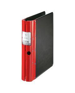 Gaffelpärm Agrippa Classic A4 60 mm röd