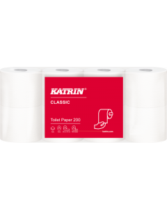 Toalettpapper Katrin Classic 200 64rl/fp