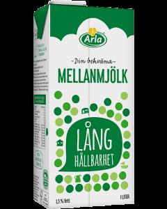 Mjölk Lång Hållbarhet Arla 1L x 10st