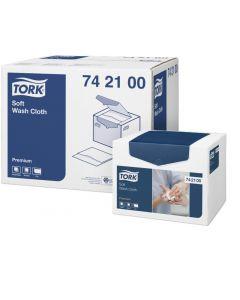 Tvättlapp Tork Premium Soft 30x19cm 1080st/fp