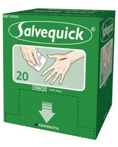 Sårtvätt Cederroth Salvequick refill 20st/fp