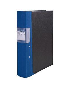 Gaffelpärm Timing System A4+ blå