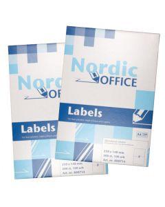 Etiketter Nordic Office
