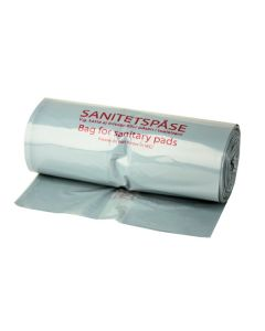 Sanitetspåsar Plast Max 100st/rulle