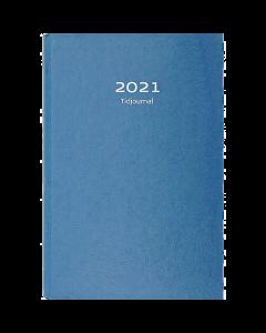 Alm. Burde Tidjournal 2021 blå kartong