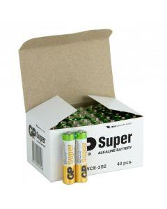GPBM Batterier Super Alkaline 40st/förp