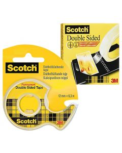 Dubbelhäftande tejp Scotch 665 12mm x 6,3m