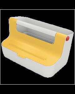 Förvaringsbox Leitz Cosy bärbar gul