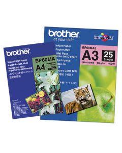 Fotopapper Brother A4 145g matt 25ark/fp