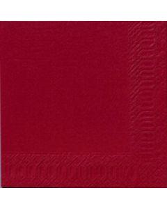 Servett 33X33 Vinröd  3-Lag 8 x 125/krt