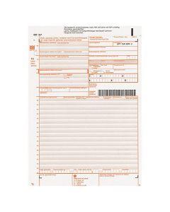 Fraktsedel numrerade självkopierande 100st/fp