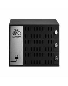 Skåp för cykelbatterier UniBike Charge