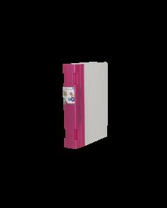 Gaffelpärm Keba Nanofashion 55mm A4 nanorosa