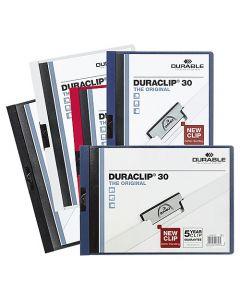 Klämmapp Duraclip 30 ark röd