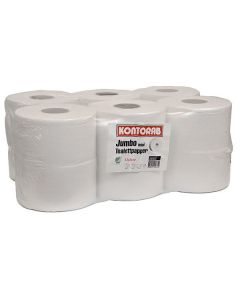 Toalettpapper Jumbo Mini 2-lags 6rl/krt