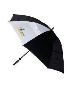 Golfparaply 162 cm svart/vit